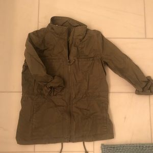 J crew army colored jacket